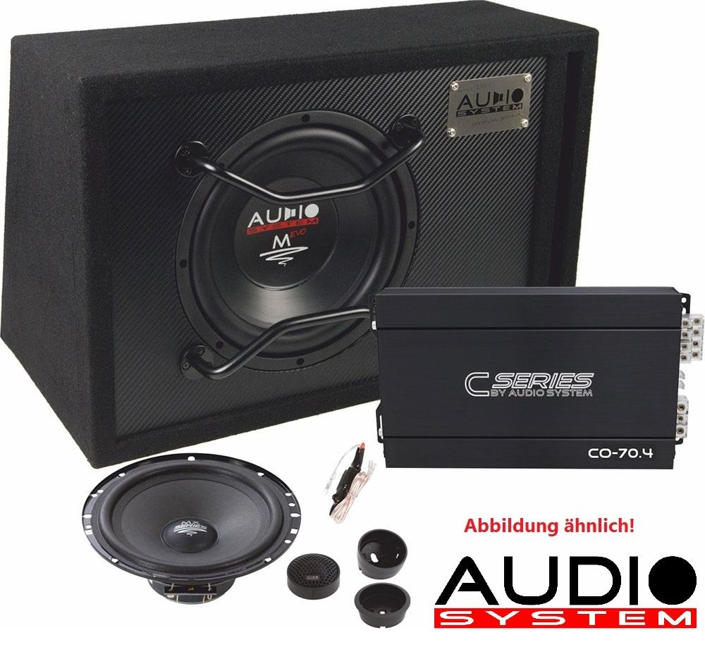 Audio System CO SERIES EVO Komplett-Set CO100 EVO : Verstärker + Subwoofer + Lautsprecher