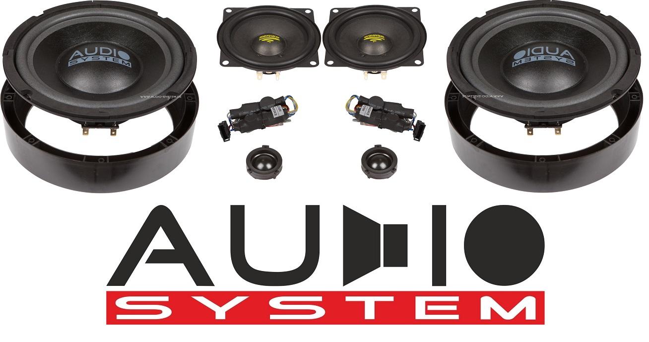 Audio System X 200 GOLF V Evo X-Series 3-Wege Spezial Front System 200mm