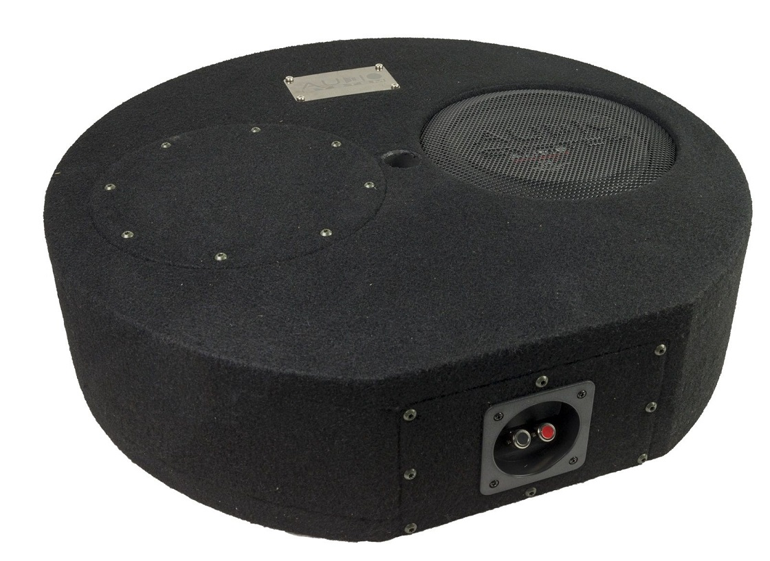 Audio System SUBFRAME R08 FLAT EVO Bassreflexgehäuse Reserverad R-SERIES EVO SUBFRAME