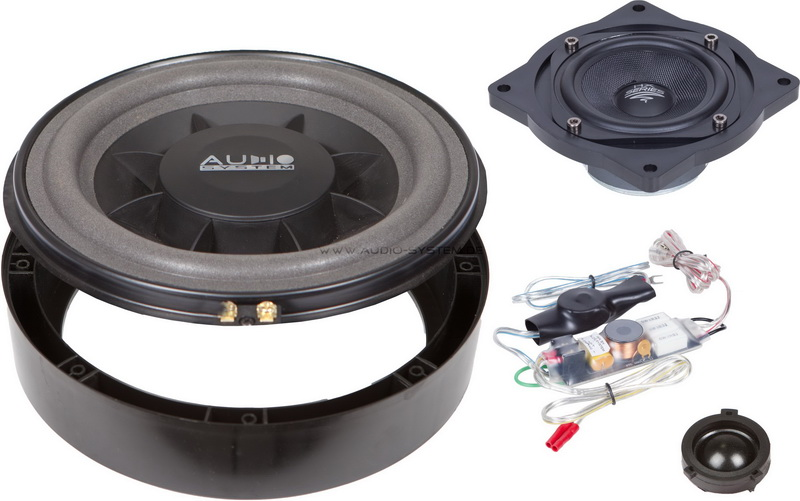 AUDIO SYSTEM X 200 GOLF V PLUS EVO 200 mm 3-Wege GOLF V Compo System