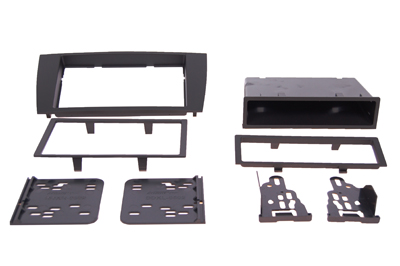 RTA 002.251-0 Multi-frame mounting kit with storage compartment, ABS black version