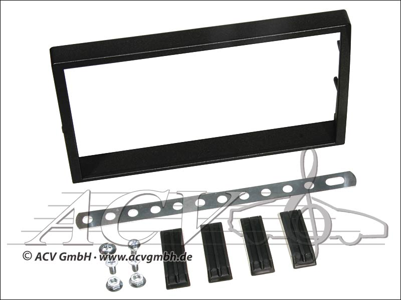 Double-DIN kit di installazione gomma tocco SsangYong Actyon