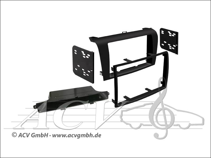 kit dinstallation Double-DIN Mazda 3