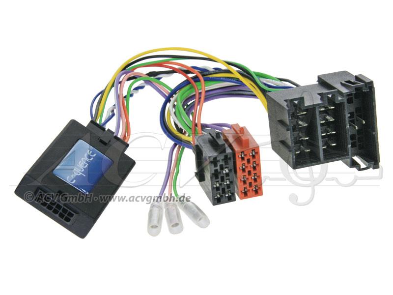 ACV 42-AR-903 Steering Wheel Adapter Alfa 147/GT CAN-Bus -> JVC
