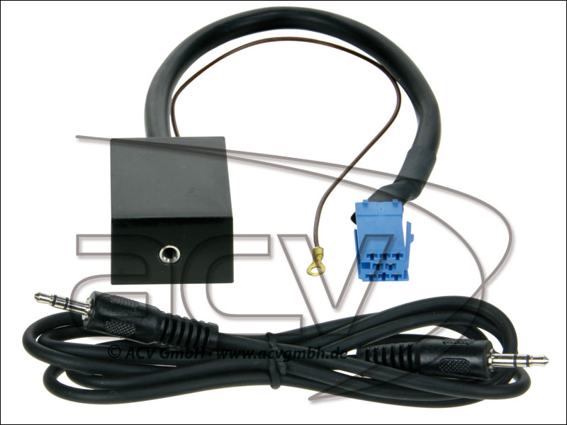 ACV 311320-02 AUX-IN Adapter Audi / Seat / Skoda / VW mit 8 PIN