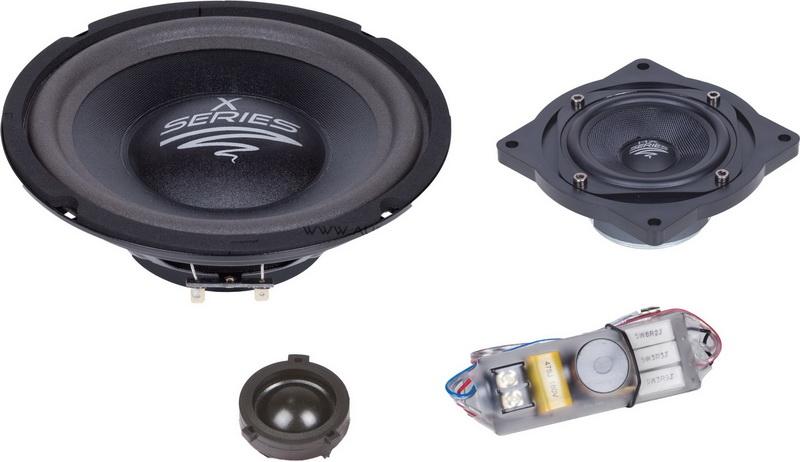 AUDIO SYSTEM X 200 GOLF V EVO 200 mm 3-Wege GOLF V Compo System
