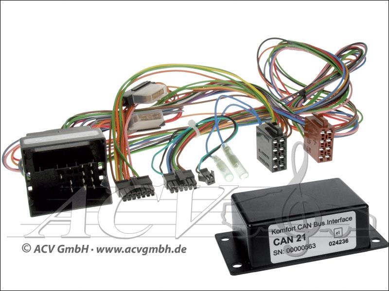 ACV 12-1324-00-57  VW CAN-BUS Multifunktionslenkrad auf Variocom