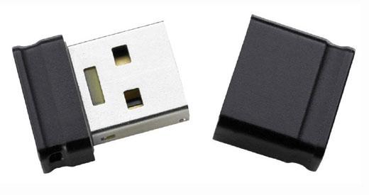 Intenso microSD de 8 Go USB Flash Drive (MINI)