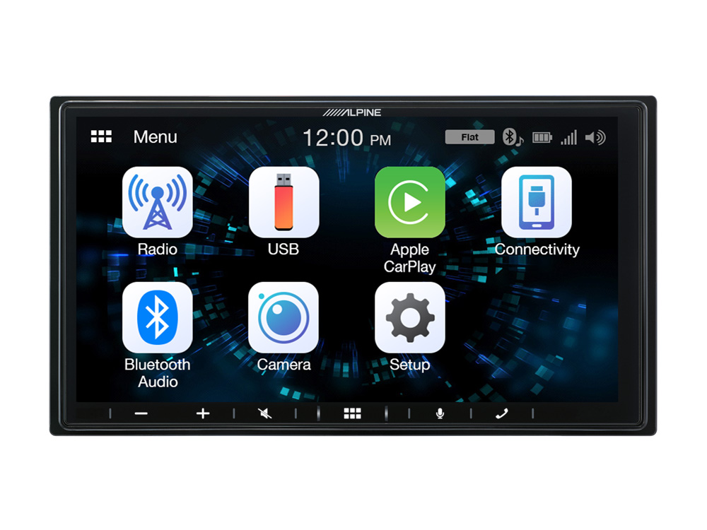 Alpine iLX-W650BT Digital Media Station mit 7-Zoll Display, Apple CarPlay und Android Auto Unterstützung
