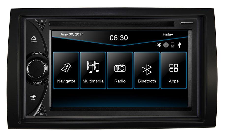 ESX VN6315D Naviceiver mit iGO Navigations-Software Fiat Ducato, Peugeot Boxer, Citroen Jumper