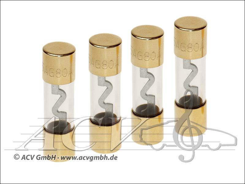 ACV 30.3901 à 60 AGU fusibles 60 ampères 4 pièces