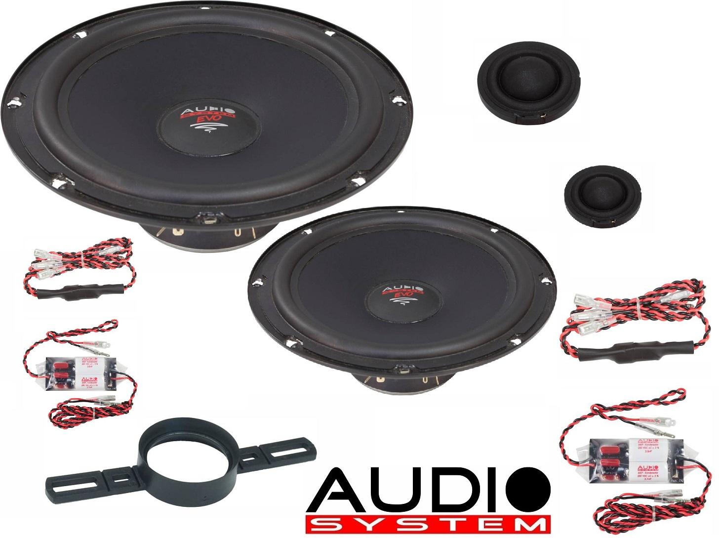 Audio System X 200 EM EVO 2 Lautsprecher 20cm 2-Wege EASY MOUNTING Compo System