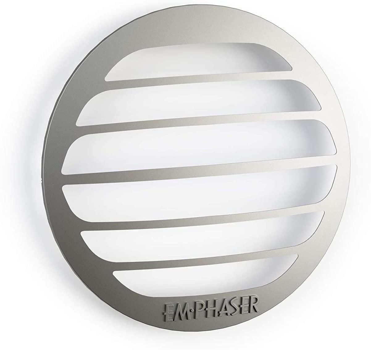 EMPHASER EM-MBGRILL Edelstahl Lautsprecherabdeckung Lautsprecherblende 10cm für Mercedes Fahrzeuge