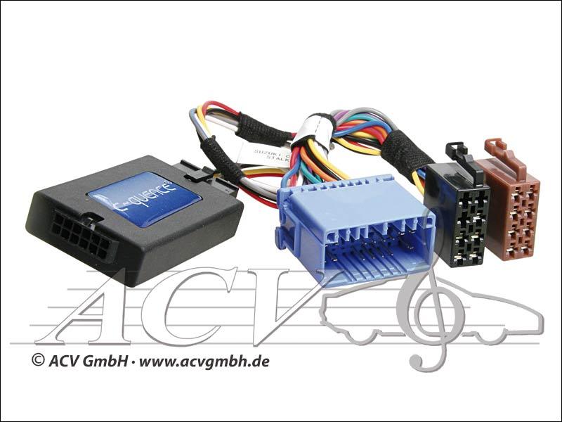 ACV 42-SZ-501 volante adattatore Suzuki Swift, Vitara -> Blaupunkt