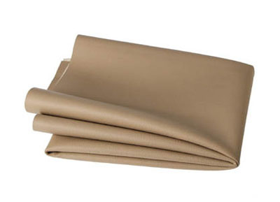 RTA 252.933-0 PVC artificial leather, color: beige and sand - Width: 1.37 / 1.40 m - Length: 70cm
