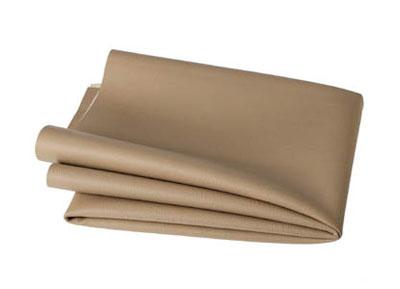 RTA 252.933-0 PVC finta pelle, colore: beige e sabbia - Larghezza: 1,37 / 1,40 m - Lunghezza: 70 cm