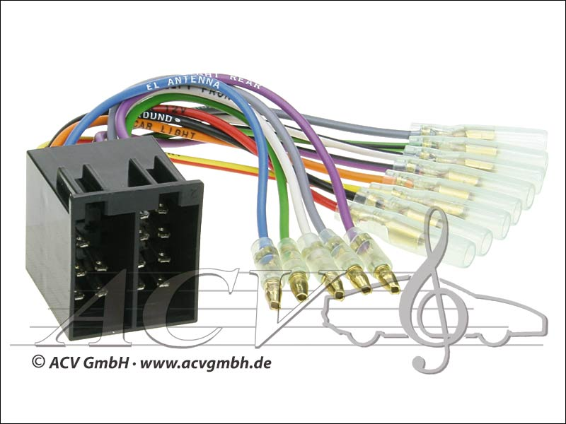 ACV 1230-04 Universal modernisation pouvoir kits et haut-parleurs