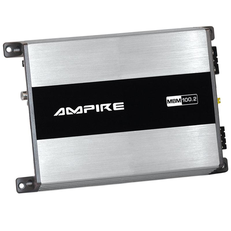 AMPIRE MBM100.2-2G 2-Kanal Endstufe, 2x 100 Watt, Class D AMPIRE MBM 100.2