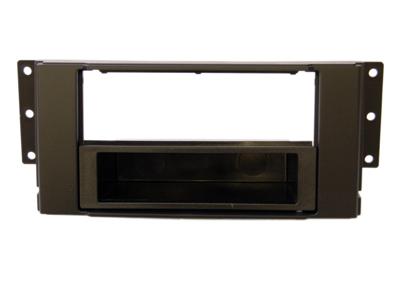 RTA 000.246-0 1- DIN Einbaurahmen, ABS schwarz LANDROVER Freelander II alle Modelle / 07 ->