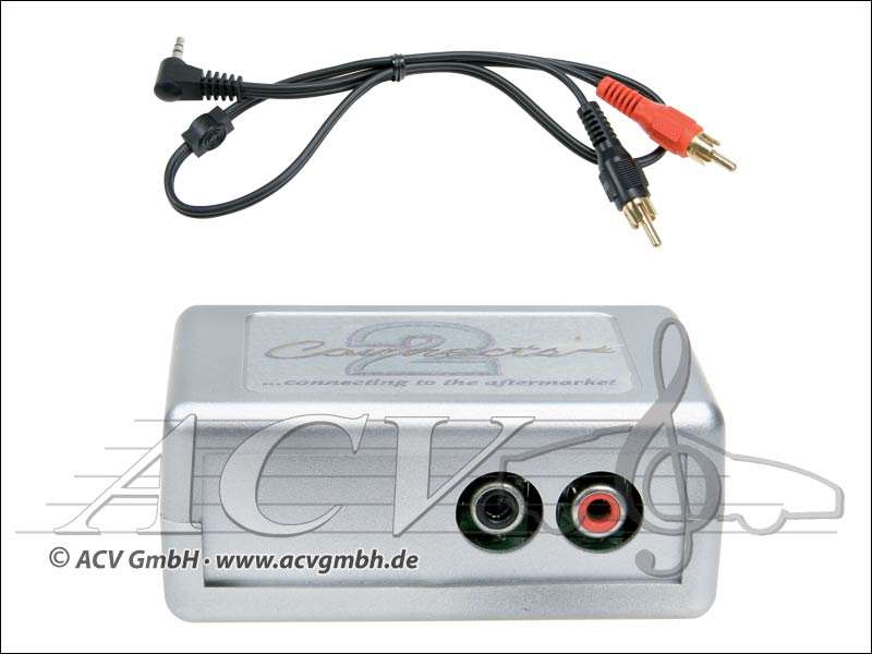 ACV 44VFOX001 Ford / Jaguar Relie 2 adaptateur AUX