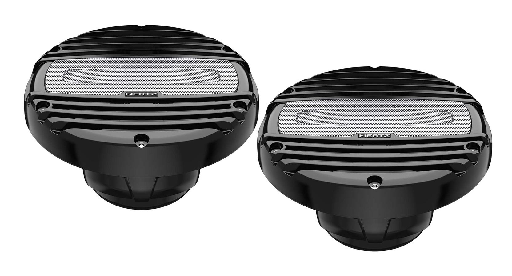 "Hertz HMX 6.5-LD-C Marine Outdoor Lautsprecher 6.5"" 4Ohm MARINE COAX BLACK RGB"