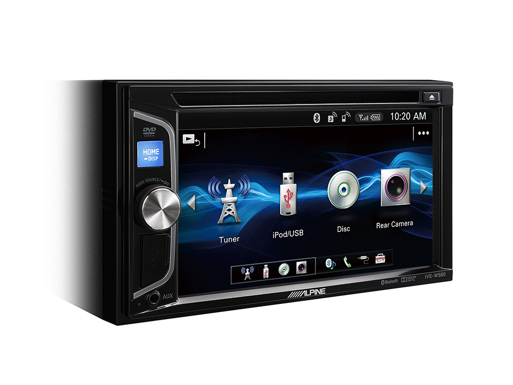 Alpine IVE-W560BT 2-DIN MOBILE MEDIA STATION Autoradio 6,2-Zoll