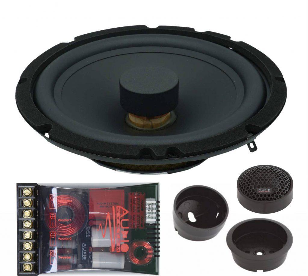 Audio System X 165 FLAT X Series 16.5 inch thin, 2-way system