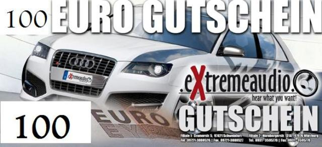 Gutschein Wert 100 Euro