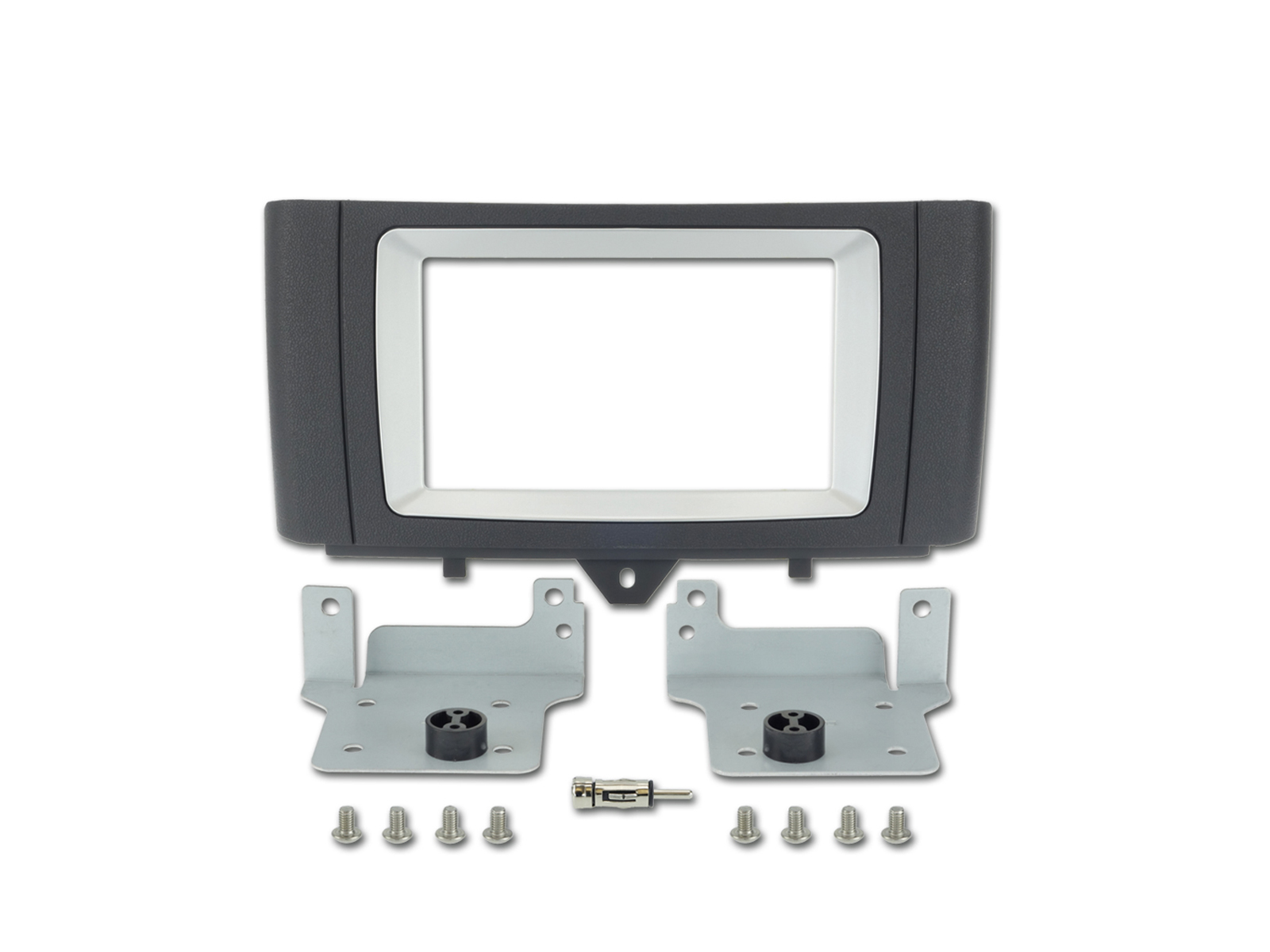 Alpine KIT-6.1SMT Einbauset für Smart Fortwo (451) Installations-Set 2 DIN