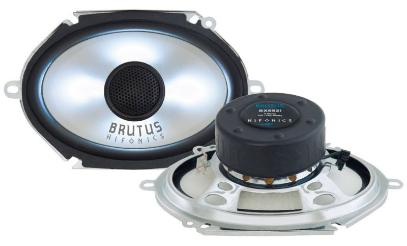 "HIFONICS BX-682i BRUTUS Koax 6x8"" Lautsprecher 1 Paar 200 Watt"