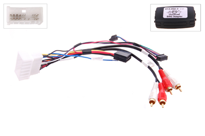 RTA 013.441-0 Steering wheel with steering wheel remote control adapters for vehicles without CAN bus controller