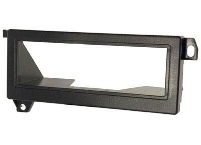 RTA 000.054-0 1 - DIN mounting frame, black ABS