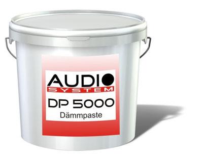 Audio system Dämmpaste DP 5000 (5 kg / 1 kg = 16, - €) DP500