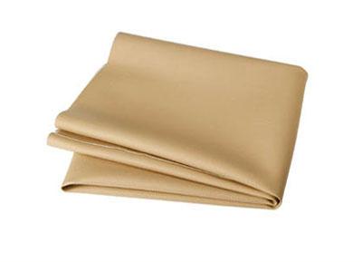 RTA 252.931-0 PVC finta pelle, colore: beige - Larghezza: 1,37 / 1,40 m - Lunghezza: 70 cm