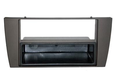 RTA 001.250-0 2- DIN Einbaurahmen, ABS schwarz für JAGUAR S Type und JAGUAR X Type