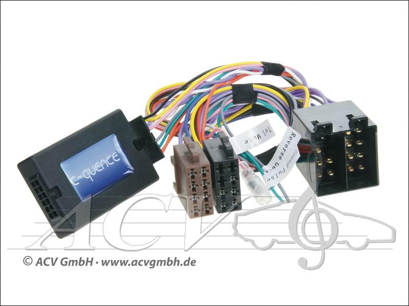 42-MC-402 CAN-Bus direction adaptateur de roue Mercedes ISO -> Zenec