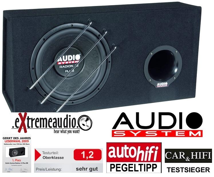 Audio System Radion 12 Plus BR Bassreflexgehäuse mit Radion
