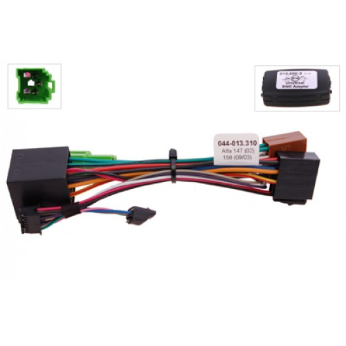 RTA 013.310-0 Steering wheel with steering wheel remote control adapters for vehicles without CAN bus controller