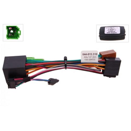 RTA 013.310-0 Volante con sterzo adattatori di controllo remoto per i veicoli a ruote, senza controller CAN bus