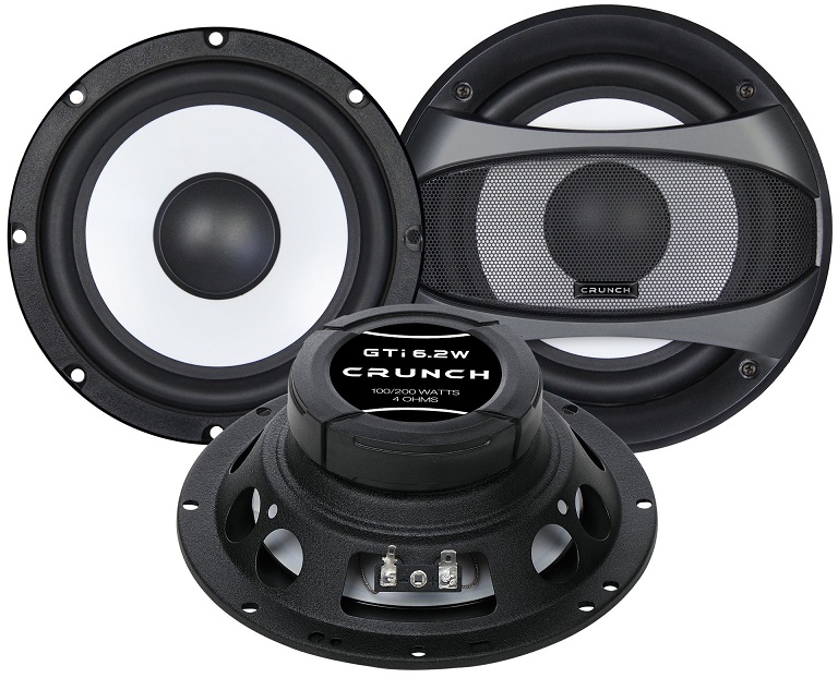 CRUNCH GTI-6.2W WOOFER SET Woofer-Paar 16,5 cm