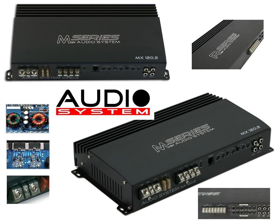 Audio System X-ION 100.2 2-Kanal Verstärker XION 100.2