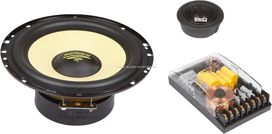 Audio System X165 Xion 2-Wege 16,5 cm KICKBASS System