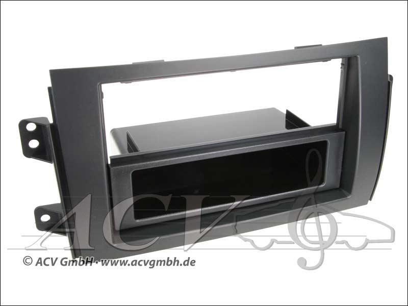 Radio doppio pannello-ISO Fiat Sedici 2006 -> Suzuki SX4 2006 ->