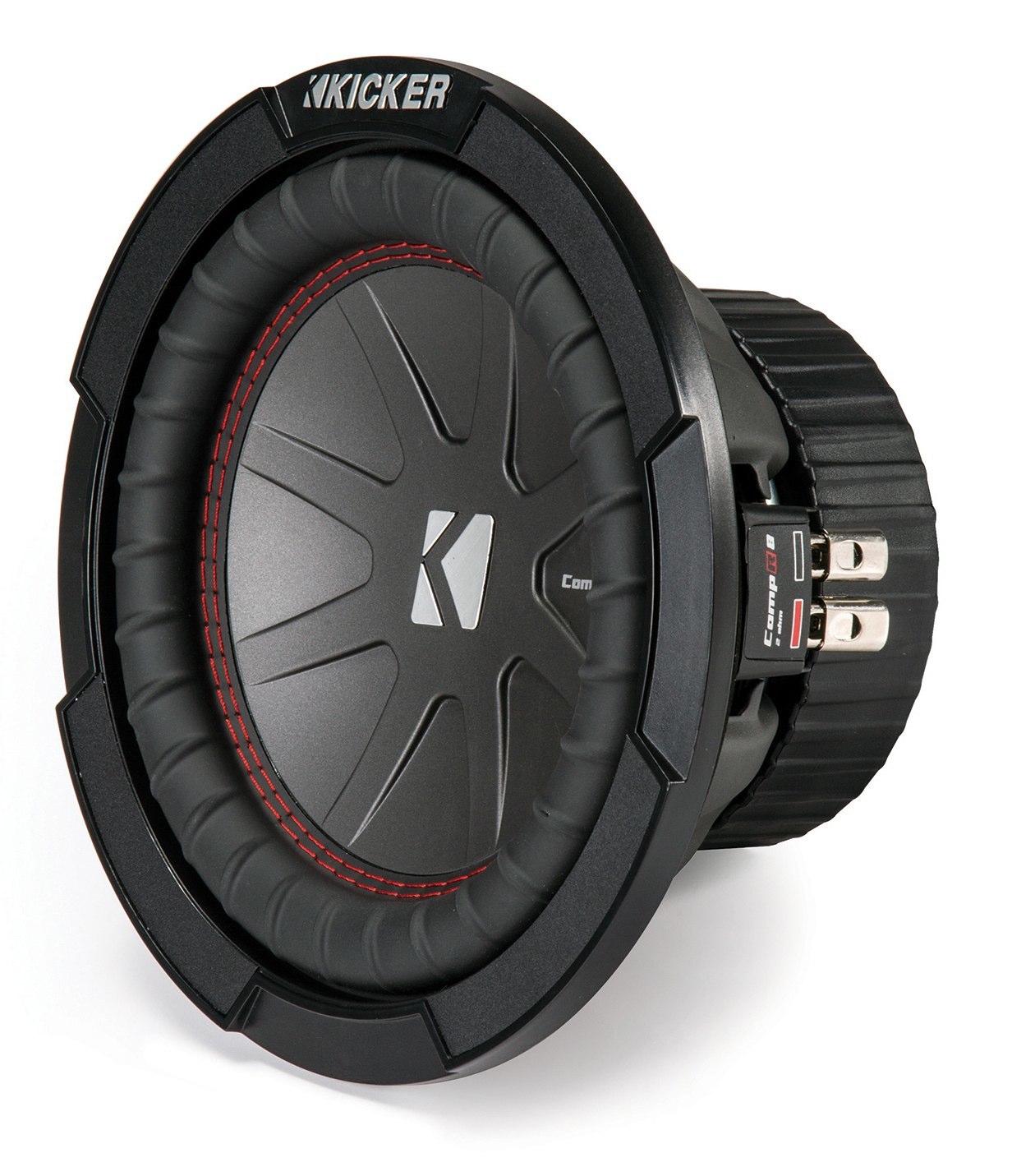 """KICKER CWR84-43 Subwoofer 20cm 8"""" Woofer CompR84 CompR-Serie 600 Watt"""