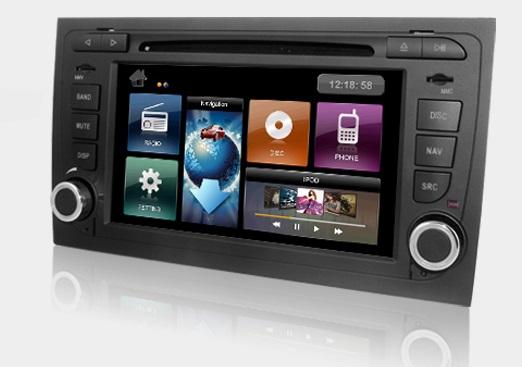 Dynavin DVN-A4 Multimedia Navigation N7 Plattform für Audi A4 (B7) 07/2006 - 02/2009 + Navigationssoftware