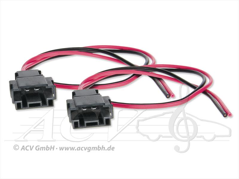 ACV 1193-01 Mercedes Lautsprecheradapterkabel