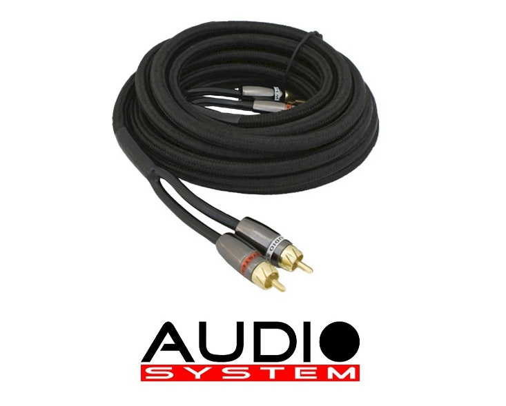 Audio System Z CHBLACK 2.5 m high-end RCA cable 2.5 meter