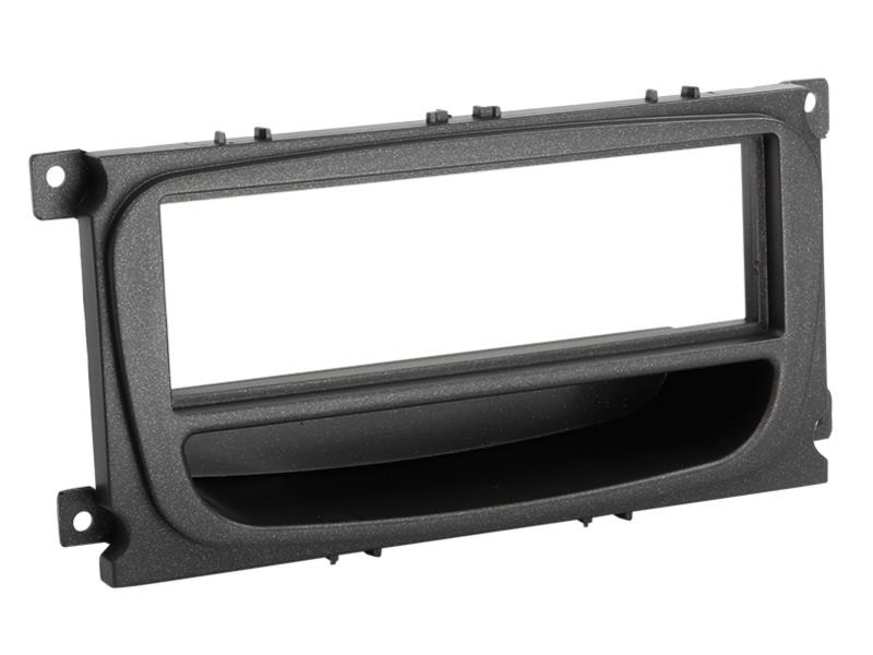 ACV 281114-36  1-DIN facia plate with pocket Ford black