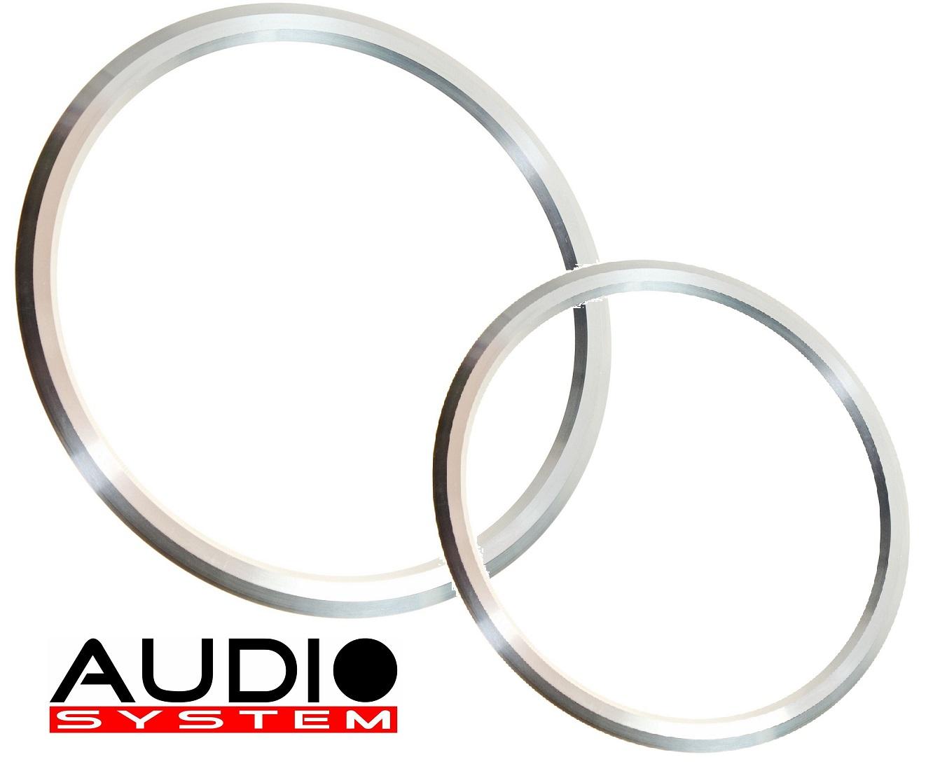 AUDIO SYSTEM ALU-RING 100 ALU TUNING für AS Mitteltöner 1 Paar