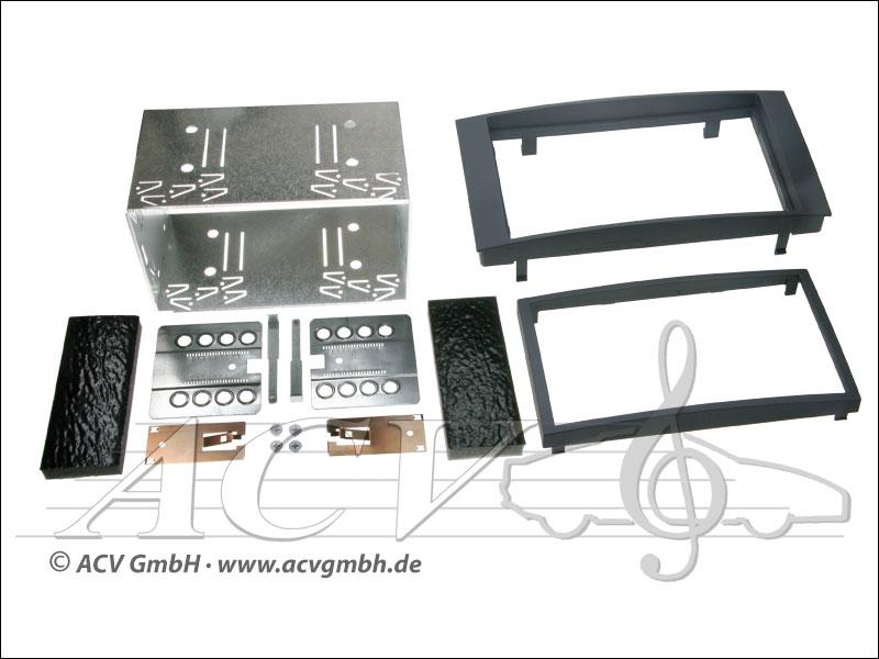 ACV 381320-11 Doppel-DIN Einbaukit VW Touareg / T5 Multivan / California